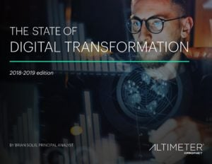 The State of Digital Transformation