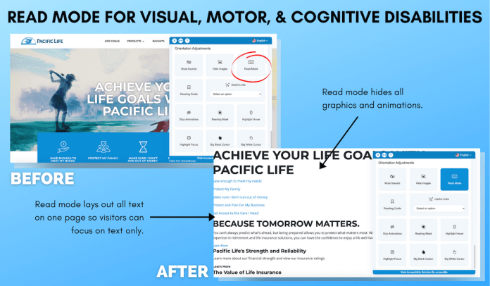 from Pacific Life Read Mode Example