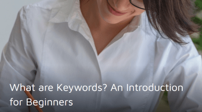 What are Keywords? An Introduction for Beginners