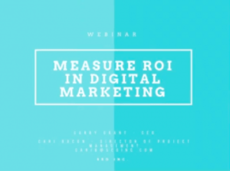 Finding ROI On Your Digital Marketing Efforts