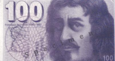 100 Schweizer Franken Banknote Geld