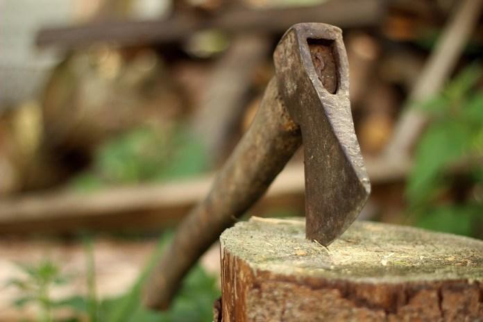 lumberjack pickaxe