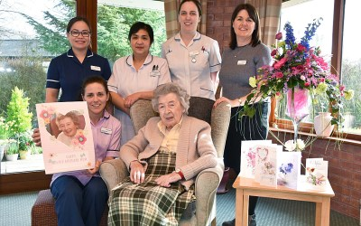 Celebrating 102 Years Old