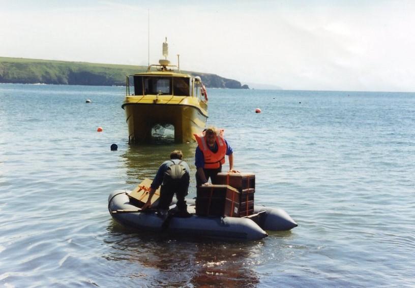 Bardsey Island boat