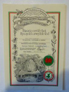 WBKA Basic Assessment certificate