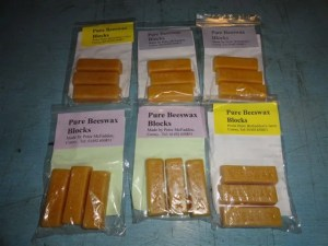 7. Beeswax ready for sale