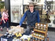 Visiting beekeeper