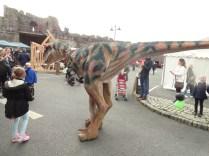 T-rex in Vicarage car park