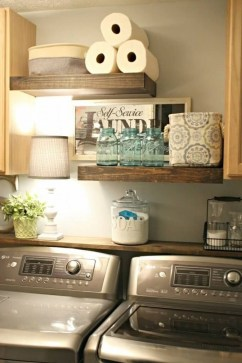 Genius Laundry Room Storage Organization Ideas 39