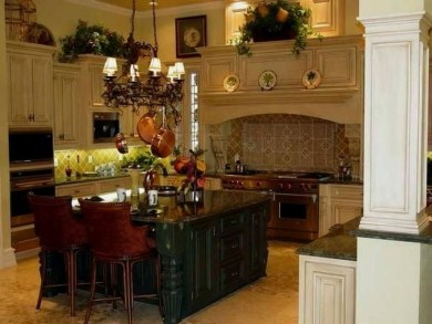 Awesome Decorating Above Kitchen Cabinets 36