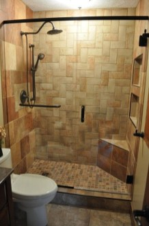 Creative Master Bathroom Shower Remodel Ideas 03