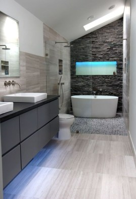Creative Master Bathroom Shower Remodel Ideas 06