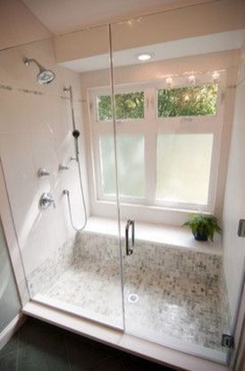 Creative Master Bathroom Shower Remodel Ideas 24