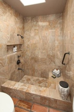 Creative Master Bathroom Shower Remodel Ideas 42