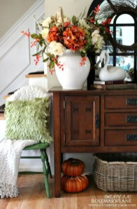 Fascinating Fall Home Tour Decor To Inspire 04