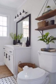 Gorgeous Rustic Farmhouse Bathroom Decor Ideas 10