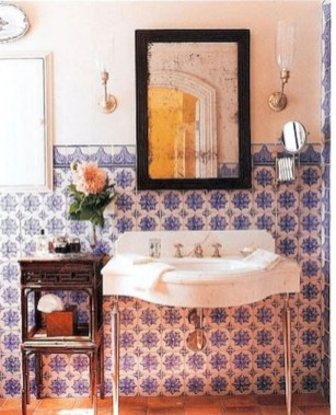 Lovely Eclectic Bathroom Ideas 06