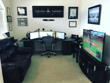 Unique Gaming Desk Computer Setup Ideas 18