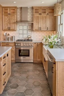 Cute Farmhouse Kitchen Backsplash Ideas 11