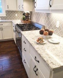 Cute Farmhouse Kitchen Backsplash Ideas 20