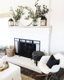 Lovely White Fall Decor Ideas For Interior Design 12