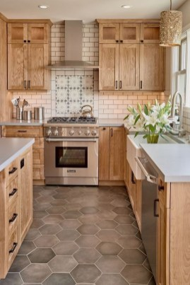 Stunning Farmhouse Kitchen Color Ideas 24