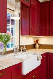 Stunning Farmhouse Kitchen Color Ideas 29