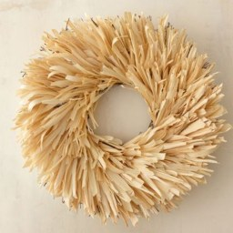 Stylish Fall Wreaths Ideas With Corn And Corn Husk For Door 21