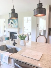 Unique Farmhouse Lighting Kitchen Ideas 39