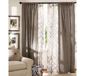 Cheap Farmhouse Curtains For Living Room Decorating Ideas 50