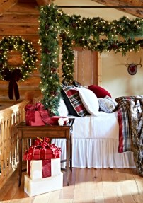 Stunning Christmas Bedroom Decor Ideas 11