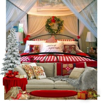 Stunning Christmas Bedroom Decor Ideas 23