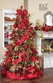 Wonderful Red Christmas Decoration Ideas 07