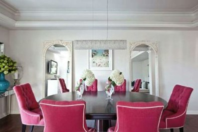 Charming Dining Room Decor Ideas For Valentines Day 05