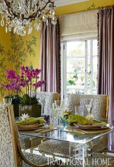 Charming Dining Room Decor Ideas For Valentines Day 26