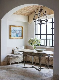 Amazing French Country Dining Room Table Decor Ideas 34