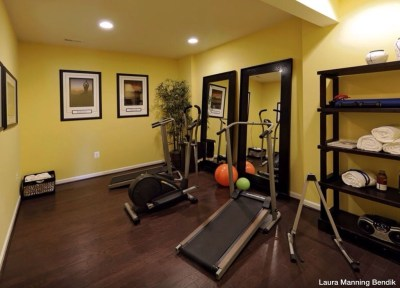 Cheap Home Gym Decorating Ideas For Small Space 32