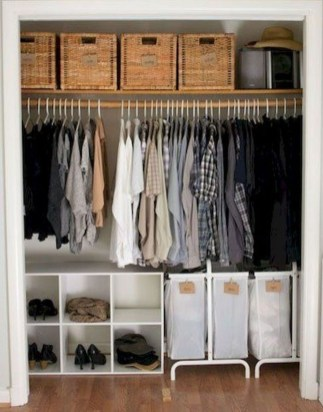 Minimalist Bedroom Design Storage Organization Ideas 08