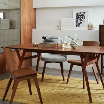 Modern Mid Century Dining Room Table Decor Ideas 08