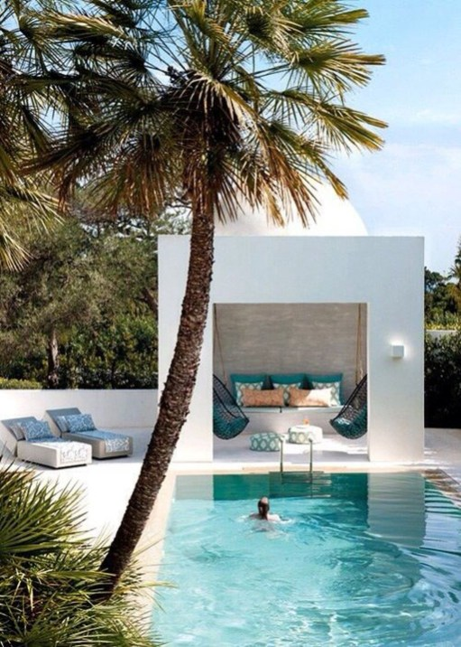 Nice Pool House Decorating Ideas On A Budget 04