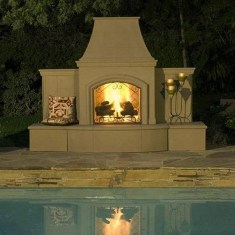 Wonderful Outdoor Fireplace Design Ideas 38