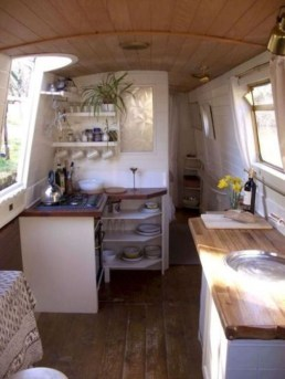 Wonderful Rv Camper Van Interior Decorating Ideas 08