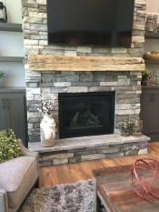 Beautiful Stone Veneer Wall Design Ideas 18
