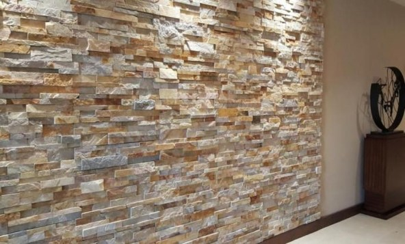 Beautiful Stone Veneer Wall Design Ideas 32