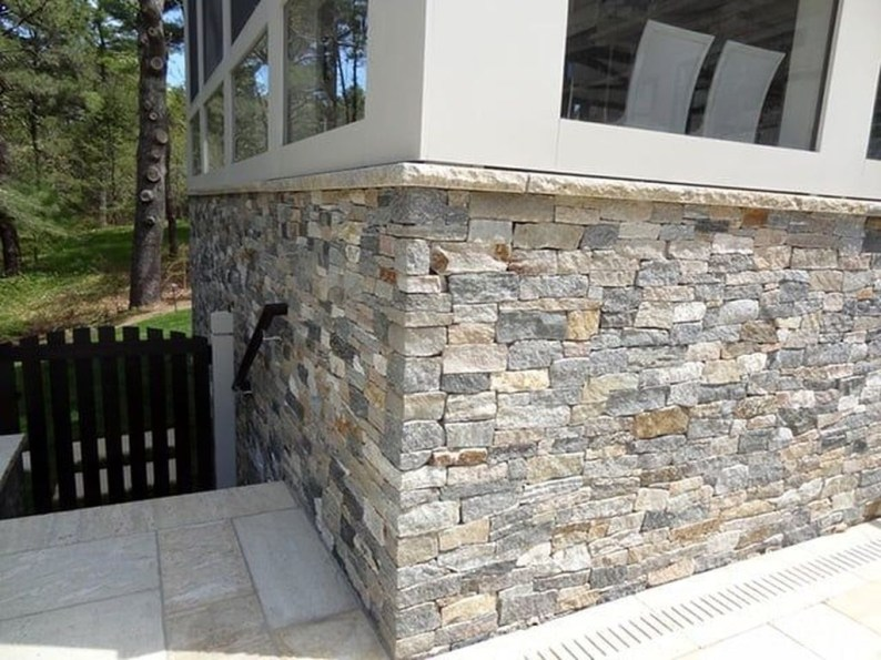 Beautiful Stone Veneer Wall Design Ideas 39