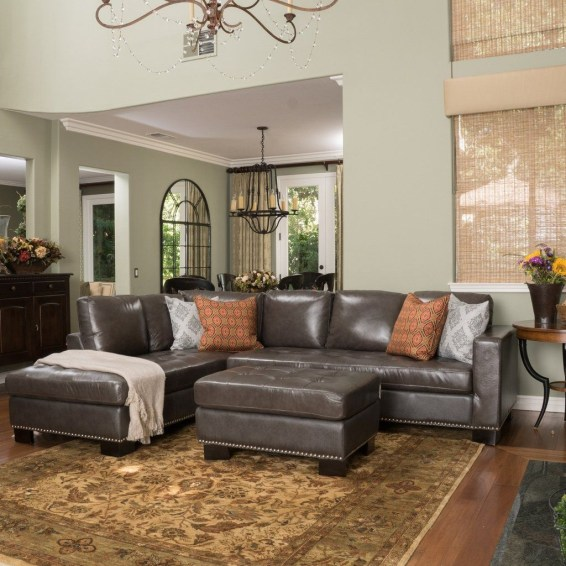Charming Living Room Designs Ideas With Combinations Of Brown Color 37