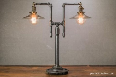 Cool Diy Industrial Pipe Lamps Ideas 23