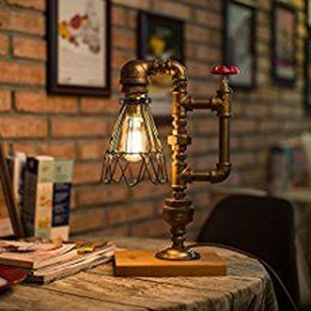 Cool Diy Industrial Pipe Lamps Ideas 24