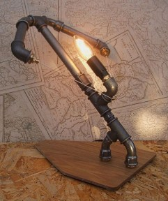 Cool Diy Industrial Pipe Lamps Ideas 36