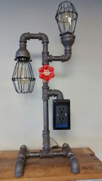 Cool Diy Industrial Pipe Lamps Ideas 47